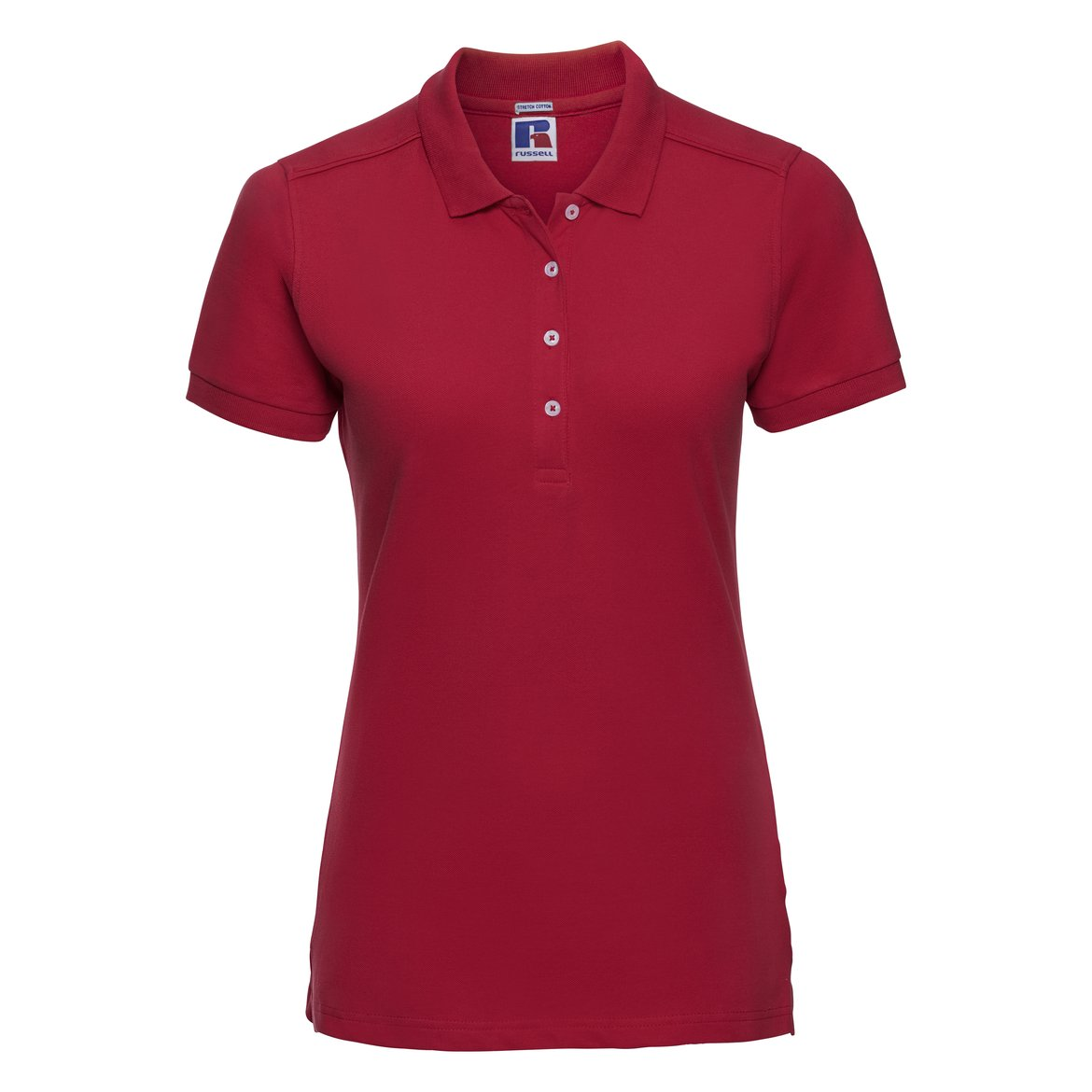 Damen Stretch Polo R-566F-0