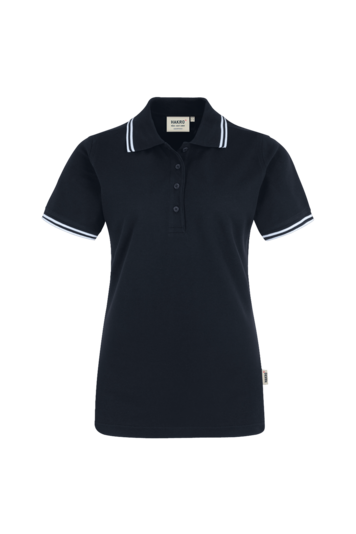 Damen Poloshirt Twin Stripe 205